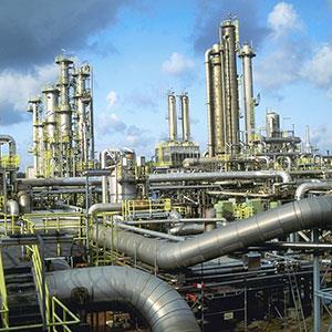 Natural gas plant copyright Kevin Burke, Corbis