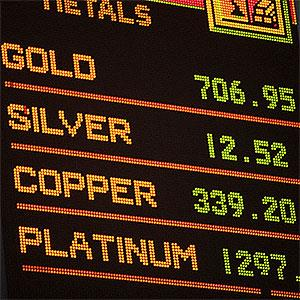 Commodity Exchange report Fotog, Tetra Images Corbis