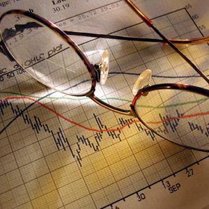 Stock market report © Corbis