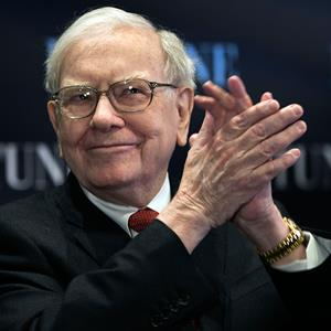 Billionaire investor Warren Buffett applauds Credit Nati Harnik AP