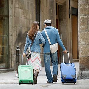 Couple on vacation © Corbis