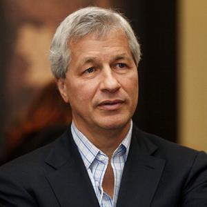 File photo of Jamie Dimon, CEO of JPMorgan Chase & Co., on Jan. 25, 2012 (© Simon Dawson/Bloomberg via Getty Images)