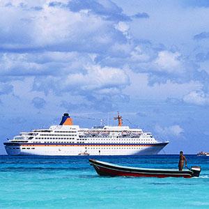Cruise ship copyright Keith Wood, Corbis