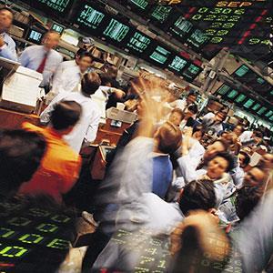 Trading floor copyright Digital Vision Ltd., SuperStock