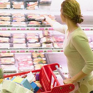 Grocery shopping copyright Corbis