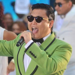Rapper Psy performs on NBC's 'Today' at Rockefeller Plaza on September 14, 2012 in New York City