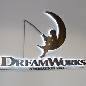 DreamWorks Animation signage during a ground breaking opening of DreamWorks studiosPaul Sakuma/AP