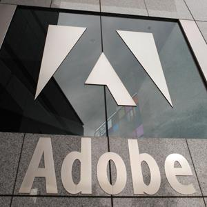 Adobe Systems Inc. headquarters is seen in San Jose, Calif.