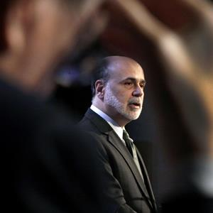 Federal Reserve Chairman Ben Bernanke in New York on Nov. 20, 2012 (© Richard Drew/AP Photo)