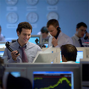 Male Stock trader © Flying Colours Ltd, Digital Vision, Getty Images
