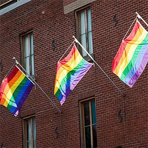 Pride Flags © Lisa Stokes, Flickr, Getty Images