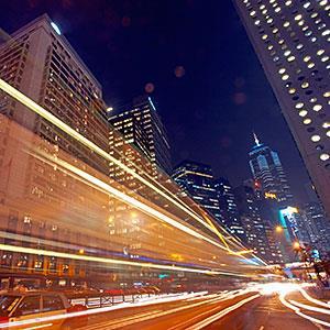 Image: Hong Kong at night © Allan Baxter, Digital Vision, Getty Images