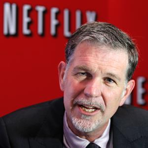 Netflix CEO Reed Hastings © ENRIQUE MARCARIAN/Newscom/RTR