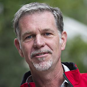 File photo of Reed Hastings, president and chief executive officer of Netflix Inc., on July 11, 2013 (© Daniel Acker/Bloomberg via Getty Images)
