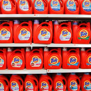 File photo of Procter & Gamble's Tide detergent at a Wal-Mart in Chicago (© John Gress/Newscom/Reuters)