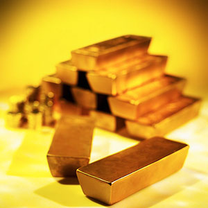 Gold Bars (© Stockbyte/SuperStock)