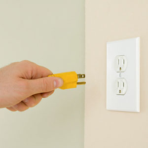Electrical plug copyright Jupiterimages, Getty Images, Getty Images