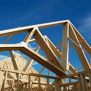 Home under construction © Corbis