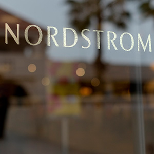 This May 9, 2013 photo shows a Nordstrom sign at a shopping mall in Brea, Calif. Nordstrom is expected to report quarterly results on Thursday, Aug. 15, 2013. © Jae C. Hong/AP