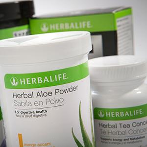 Herbalife Ltd. products are arranged for a photograph. © Scott Eells/Bloomberg via Getty Images