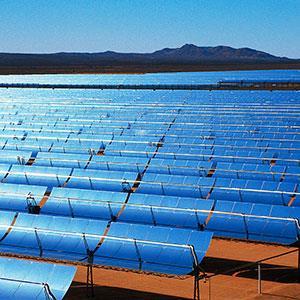 Solar energy (copyright Mick Roessler/Corbis)