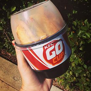 KFC's new 'Go Cup' (© KFC - Kentucky Fried Chicken via Facebook)