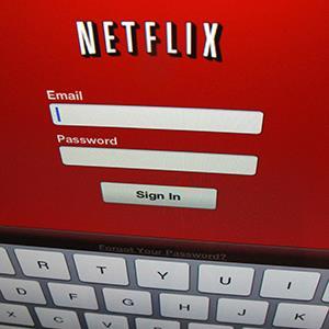 Netflix login screen. © Mike Blake/Newscom/Reuters