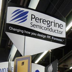 Caption: Sign of the Peregrine Semiconductor Corporation is displayed (Courtesy of Peregrine Semiconductor Corporation via Facebook)