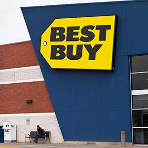 Credit: © CNY Collection/AlamyCaption: Best Buy store in Plattsburgh, NY