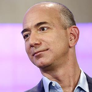 File photo of Jeff Bezos on Nov. 16, 2012 (© Peter Kramer/NBC/NBC NewsWire via Getty Images)