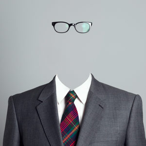 Invisible Businessman  Thomas Jackson/Getty Images