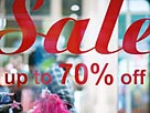 Image: Sale sign in shop window  Michele Constantini/PhotoAlto Agency RF/Getty Images