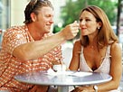 Image: Man feeding woman &#169; Jack Hollingsworth/Brand X/Getty Images