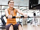 Image: Woman on rowing machine (© Jupiterimages/Brand X/Getty Images)