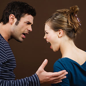 Logo: Couple arguing (Turba/zefa/Corbis)