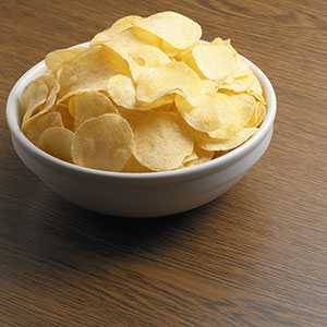 Logo: Potato chips (Image Source/Getty Images)