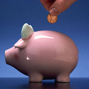 Logo: Piggy bank (Photos.com/Jupiterimages)