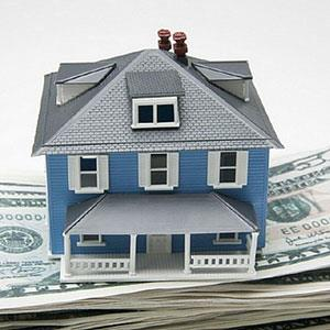 Logo: House with bills (Creatas/age fotostock)