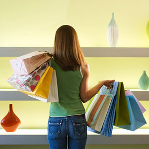 Logo: Shopping (Corbis)