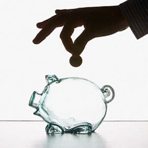 Logo: Piggy bank (Corbis)