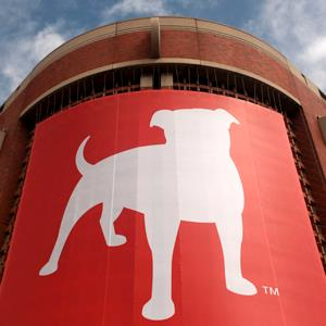 The corporate logo of Zynga Inc. is shown at its headquarters in San Francisco, Calif. on April 26, 2012 (ROBERT GALBRAITH/Newscom/RTR)