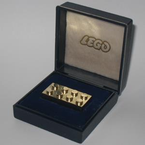 Credit: Courtesy of BrickEnvy.com&#xA;Caption: Solid Gold Lego Brick