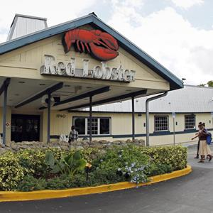 Customers walk into a Red Lobster restaurant in Hialeah, Fla. on Sept. 6, 2012 (Alan Diaz/AP Photo)