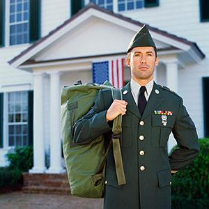 Image: Military Man (Stockbyte/SuperStock)