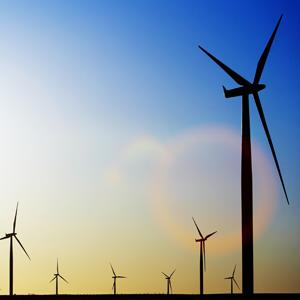 File photo of wind turbines (Thomas Northcut/Lifesize/Getty Images)