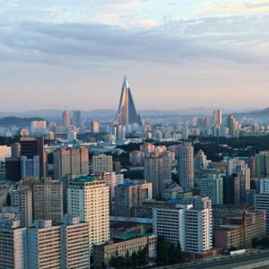 Pyongyang, North Korea skyline (Berthold Trenkel/Photodisc/Getty Images)