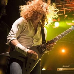 Image: Dave Mustaine of Megadeth performs on stage at Electric Ballroom on June 12, 2012 in London, United Kingdom (© Marc Broussely/Redferns via Getty Images)