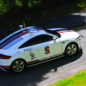 Autonomous Audi TTS (Audi of America)