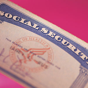 Image: Social Security Card (Comstock)