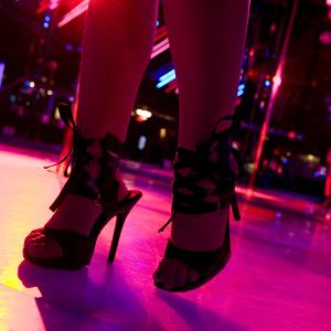 Credit: ZUMA Wire Service/Alamy&#xA;Caption: Dancer at Strip Club